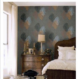 """Cole & Son Wallpaper """"Corallo"""" Fornasetti Leaves"""